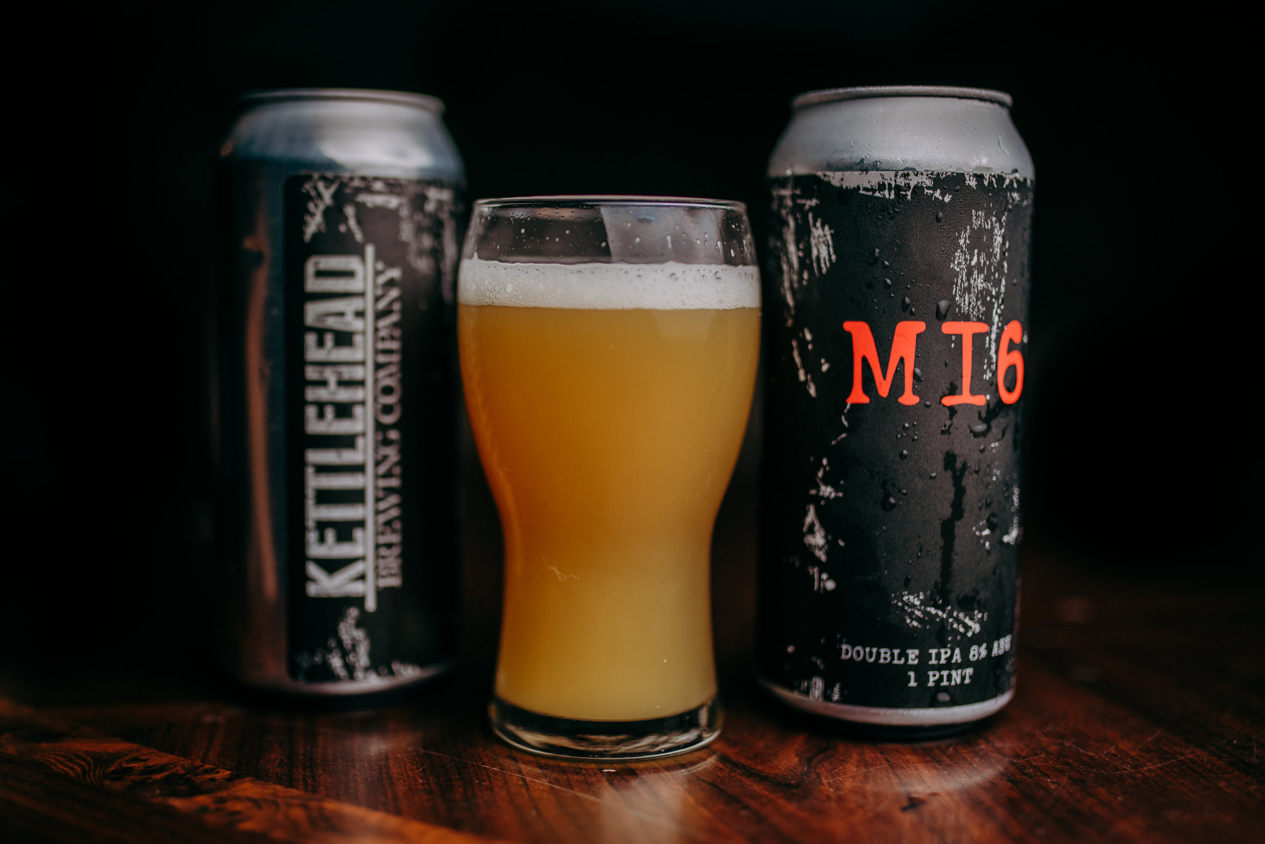Mi6, DIPA 8% - The use of hop extract oil and multilabel dry hop additions with Mosaic and Citra lupulin powder leaves double IPA dripping with smooth tropical hoppiness.