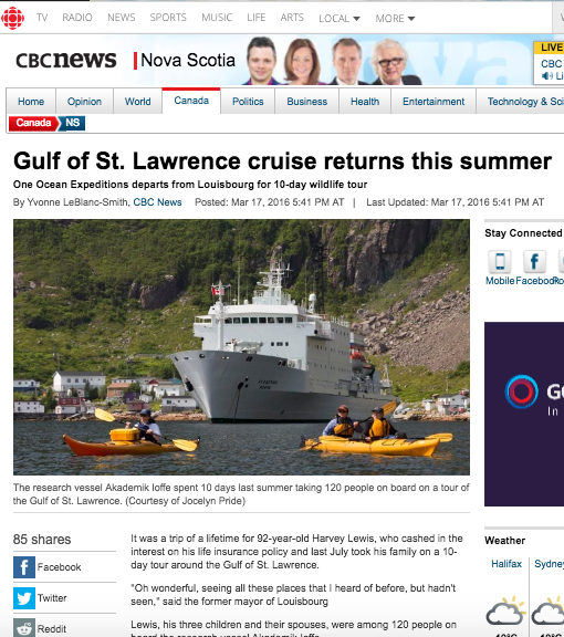 CBC Nova Scotia