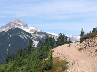 Climbing to Elfin Lake, Garibaldi Provincial Park, BC