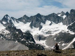 Heli hiking & meditating in the Bugaboos - CMH