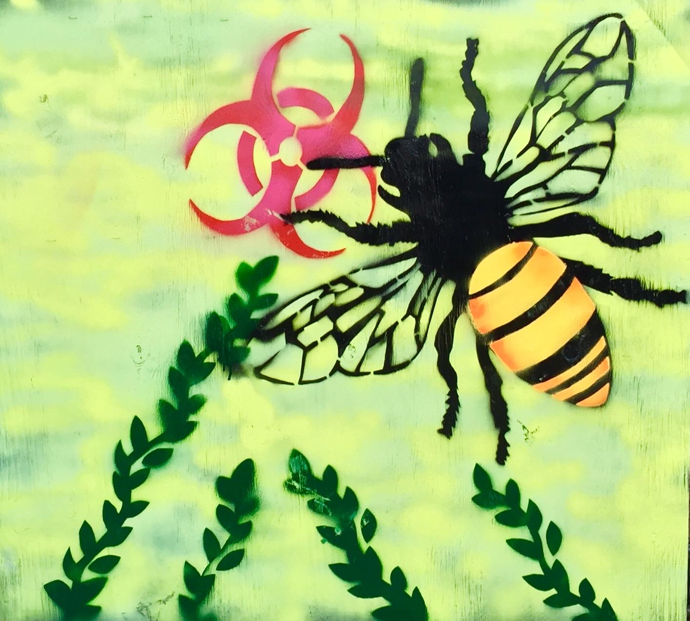 Monsanto, Sprayed Acrylic Stencil, 2015