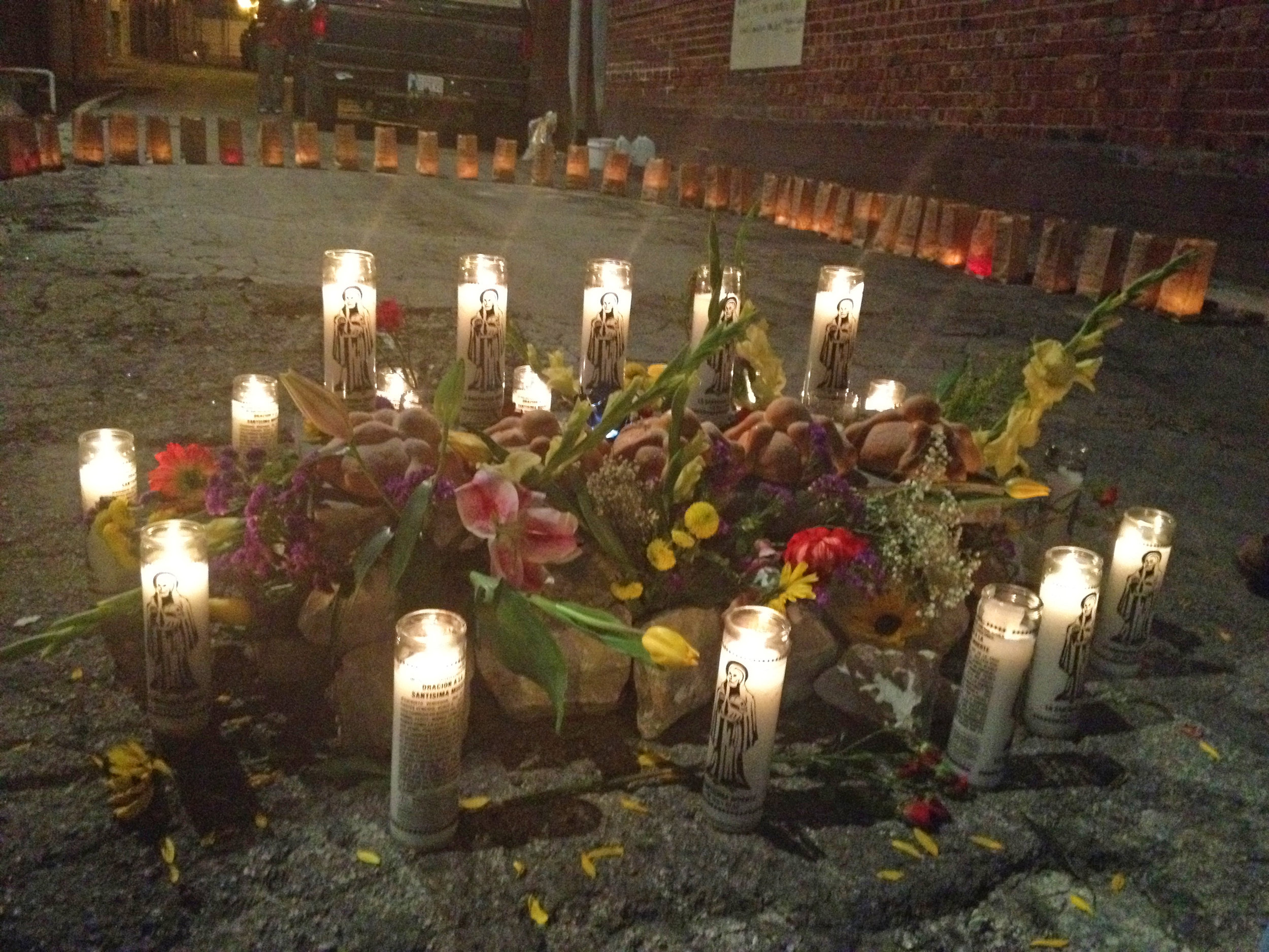 Altar for Tulsa's Homicide Victims, 2013