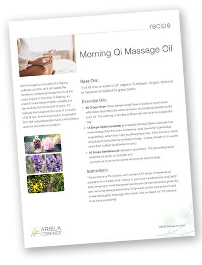 Morning Q Massage Oil