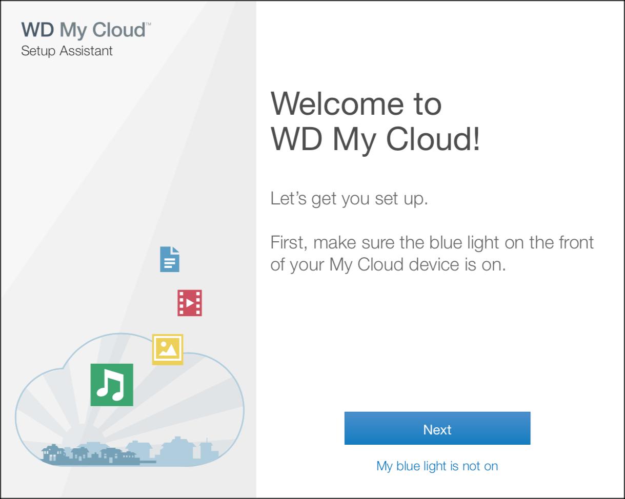 WD My Cloud Onboarding — CHAD CAMARA