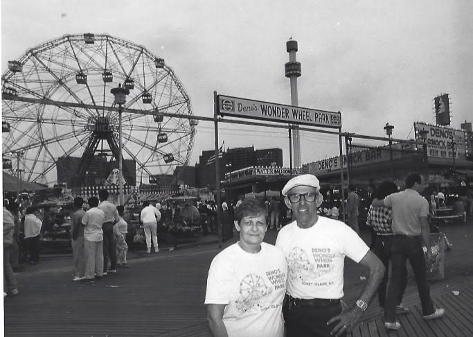 The biggest dreamer Denos & wonder woman Lula Vourderis started by selling hot dogs from pushcarts. With 50 years of dedication to Coney Island, love in their hearts, and sand in their shoes, they created Deno's Wonder Wheel Park for all to enjoy.