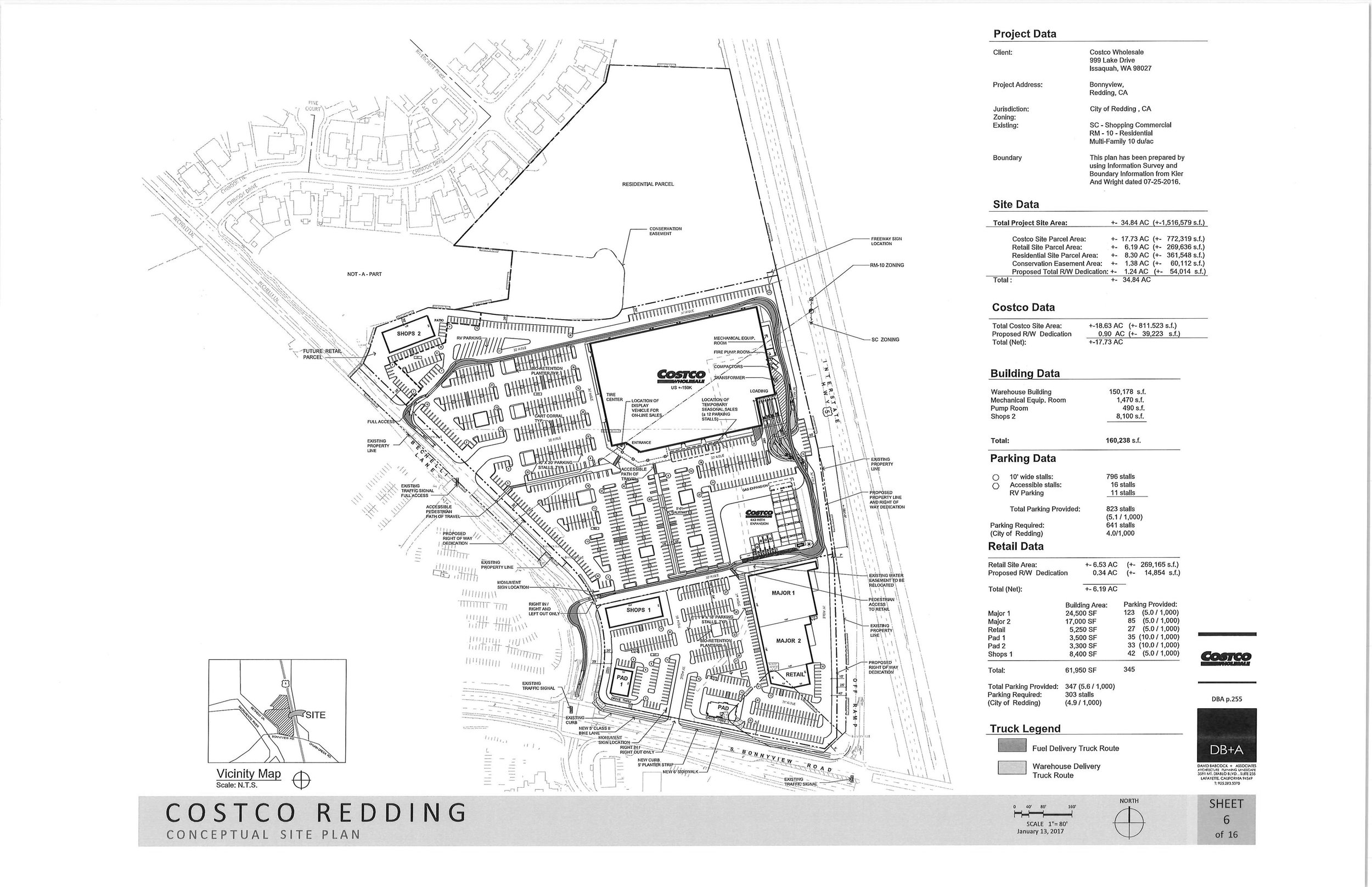 Nearly since the day it moved to Redding, Costco has needed more space to handle the demand in our area. Once the plan to move off Oasis fell through they identified a great piece of land just off I-5 and the Bonnyview exit. With and EIR (Environmental Impact Report)in process, they are likely two years from breaking ground.