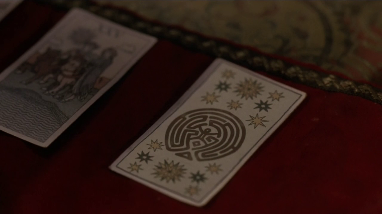 The Maze Tarot Card from  Westworld