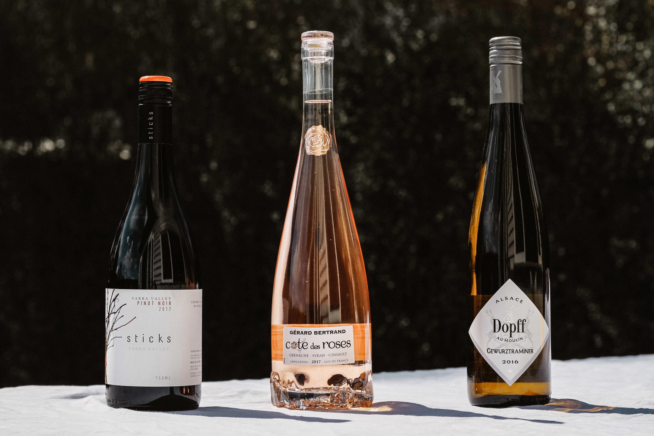 Spring Wines Dan Murphy's Rose Pinot Noir Gewurtztraminer