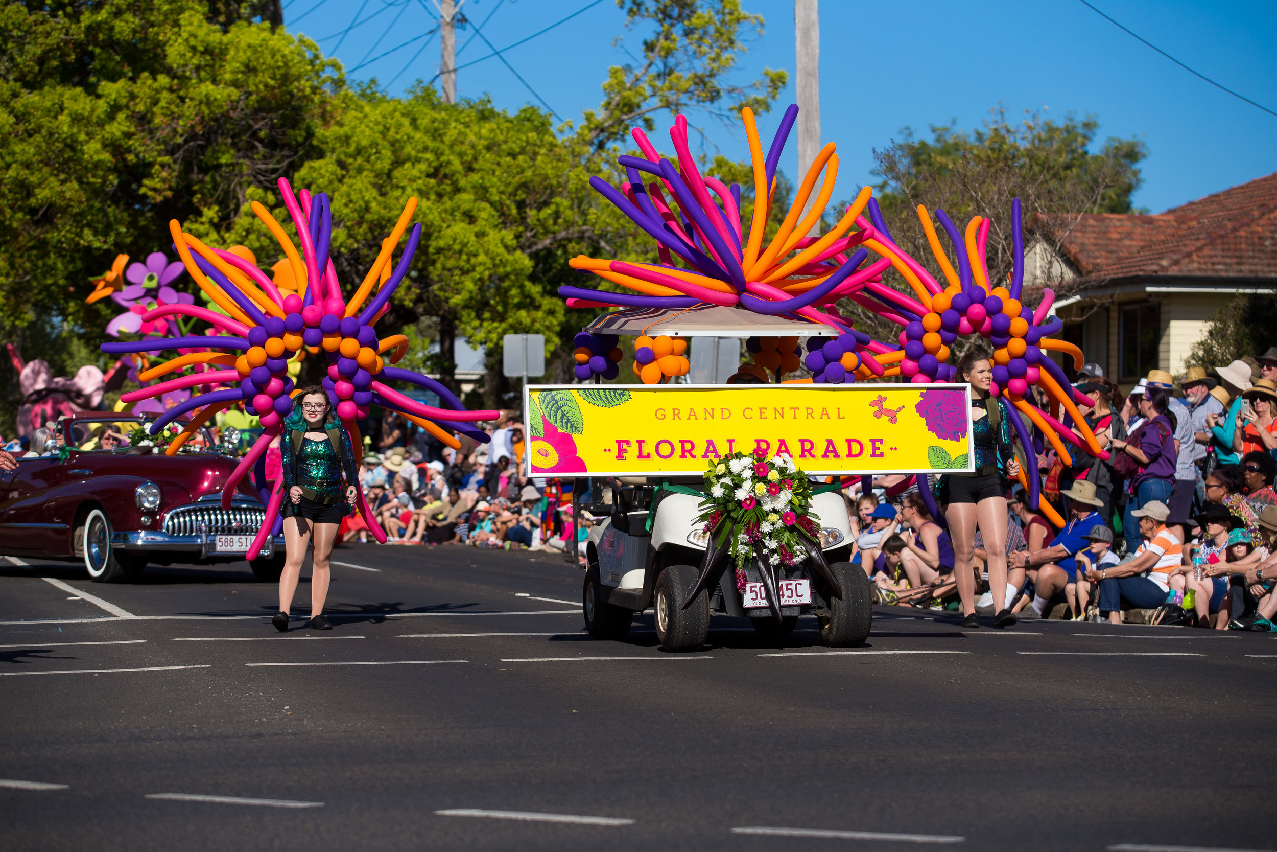 Grand Central Floral Parade Toowoomba Carnival of Flowers