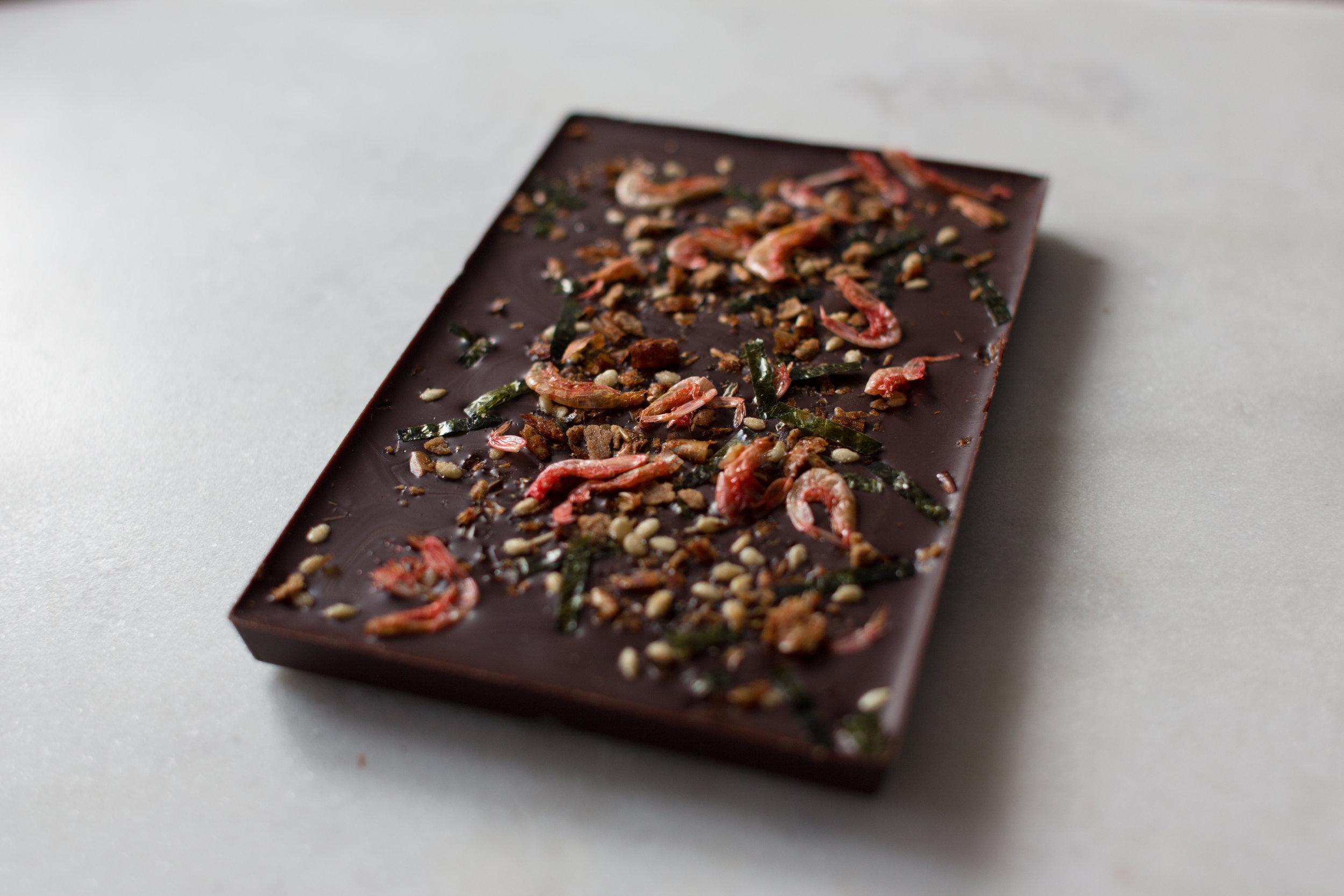 Shrimp & Bonito Chocolate Bar