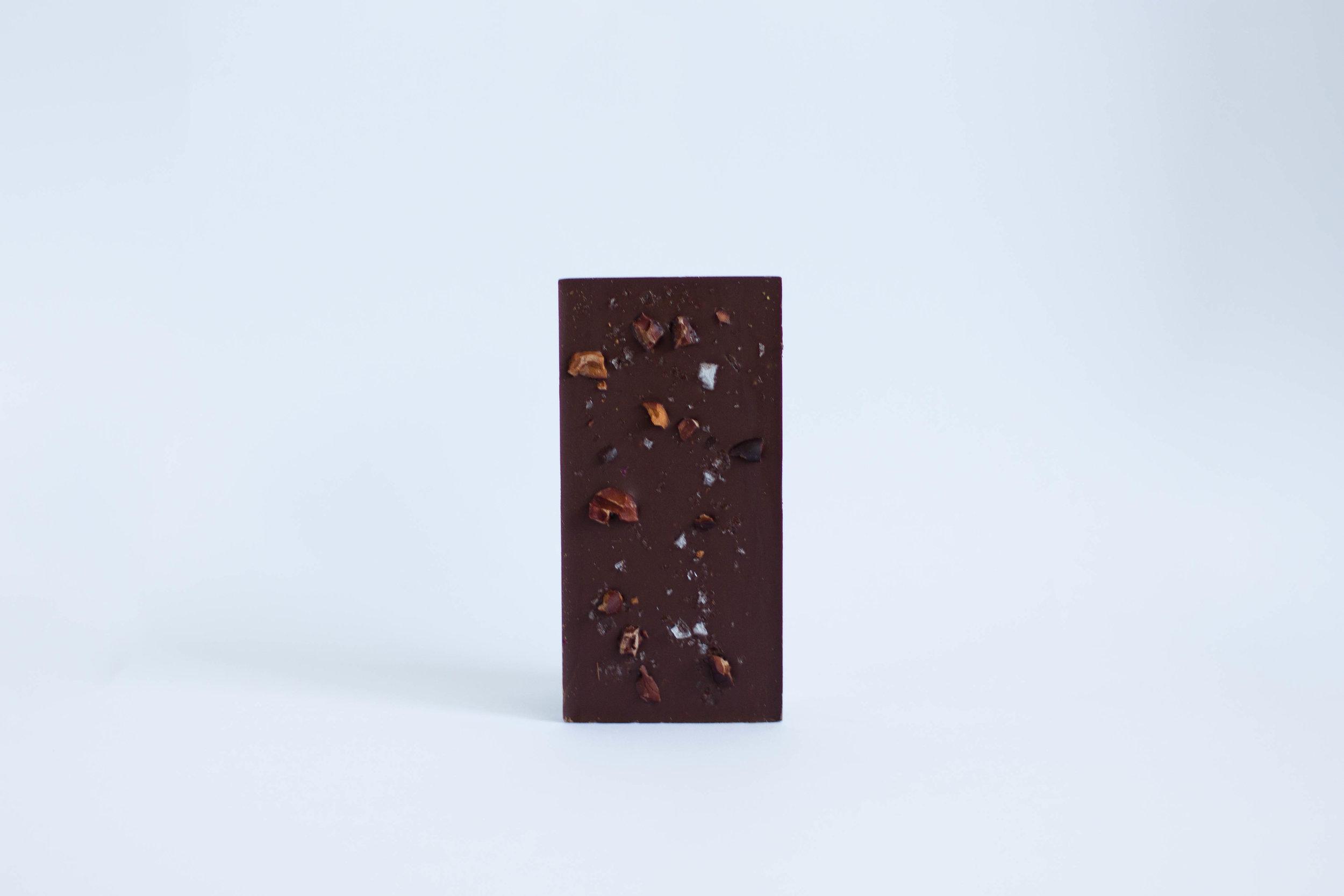 Cocoa nibs & Sea salt