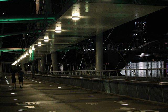 Kurilpa Bridge  @Brisbane #madeinbrisvegas