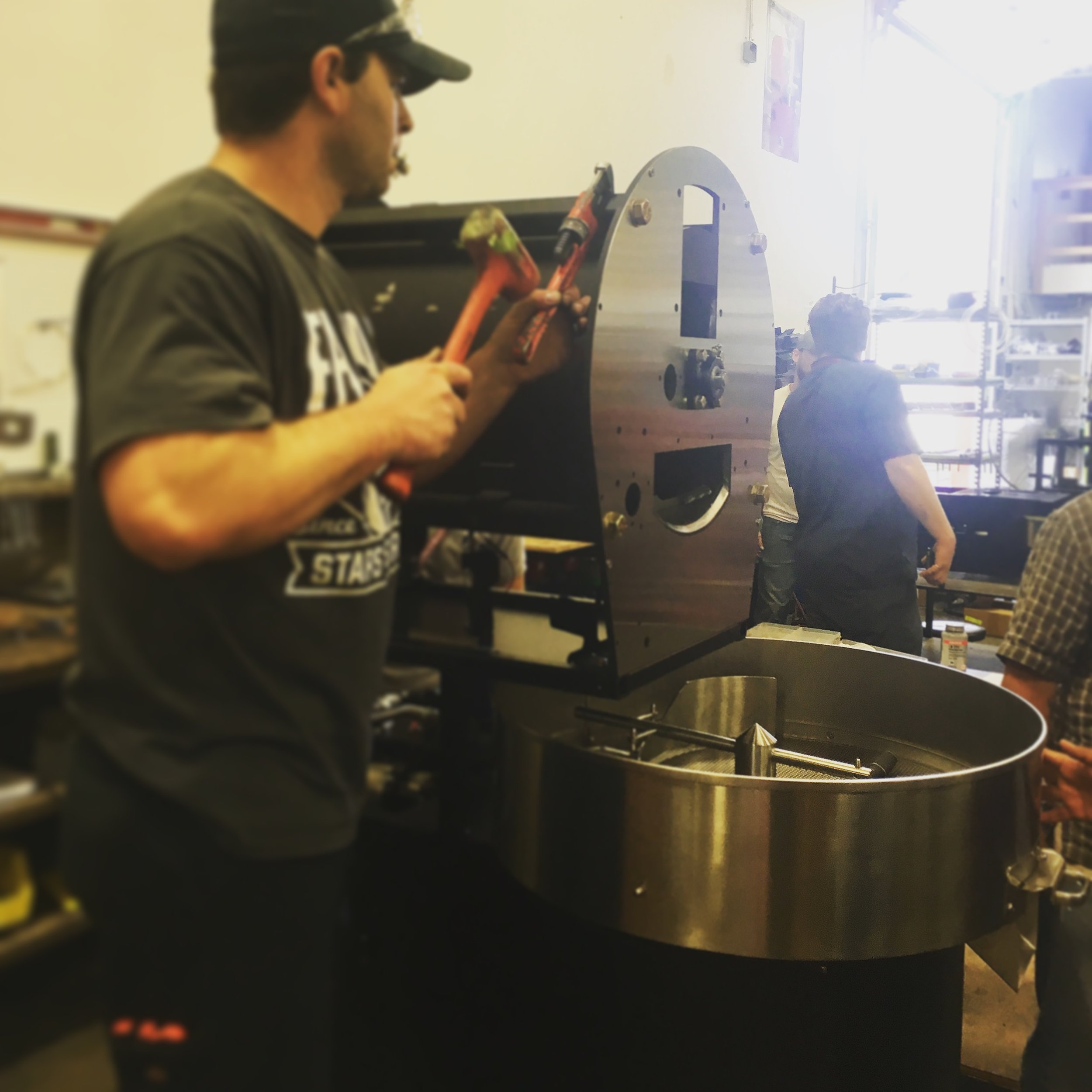 Diedrich Roasters - Hand-fabricated in Ponderay, Idaho.
