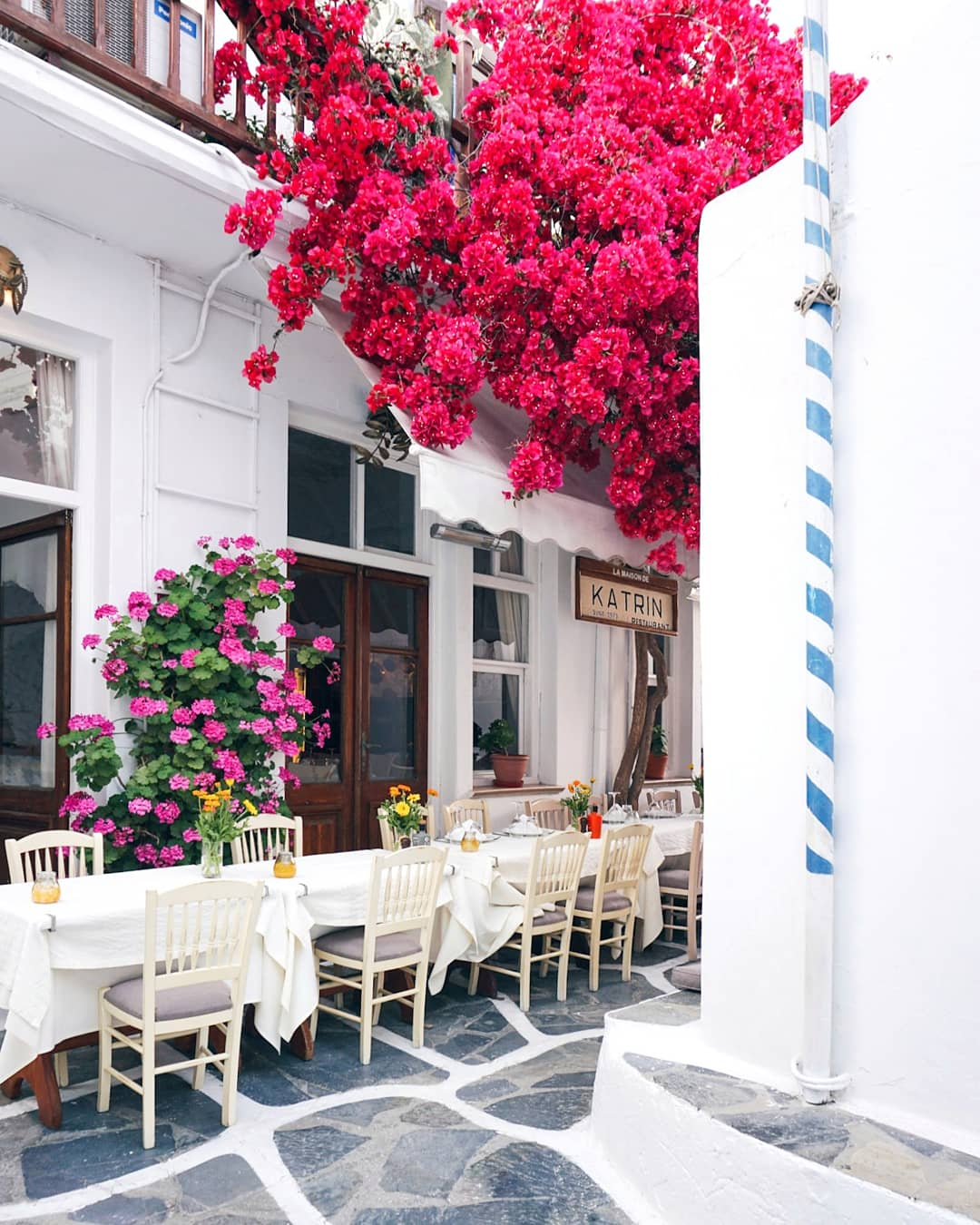 Mykonos in the spring time