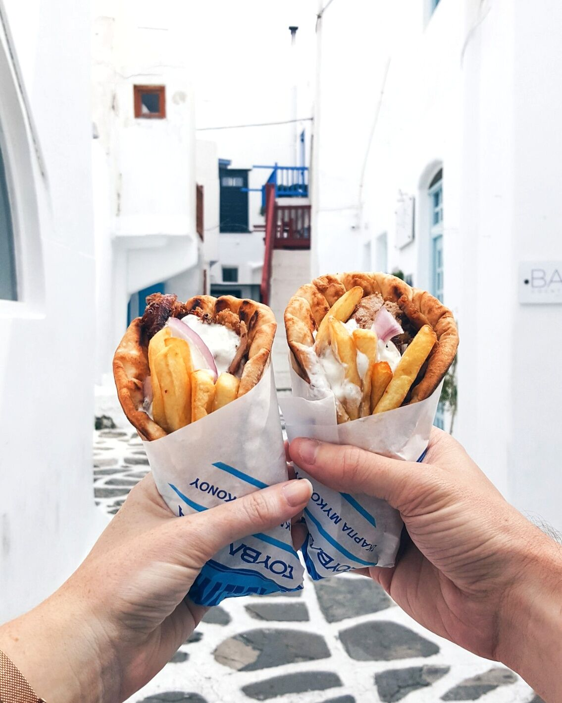 A highlight of any Greek adventure: Gyros
