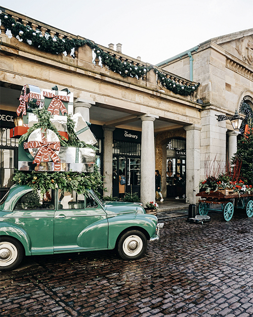 Covent Garden displays are second to none