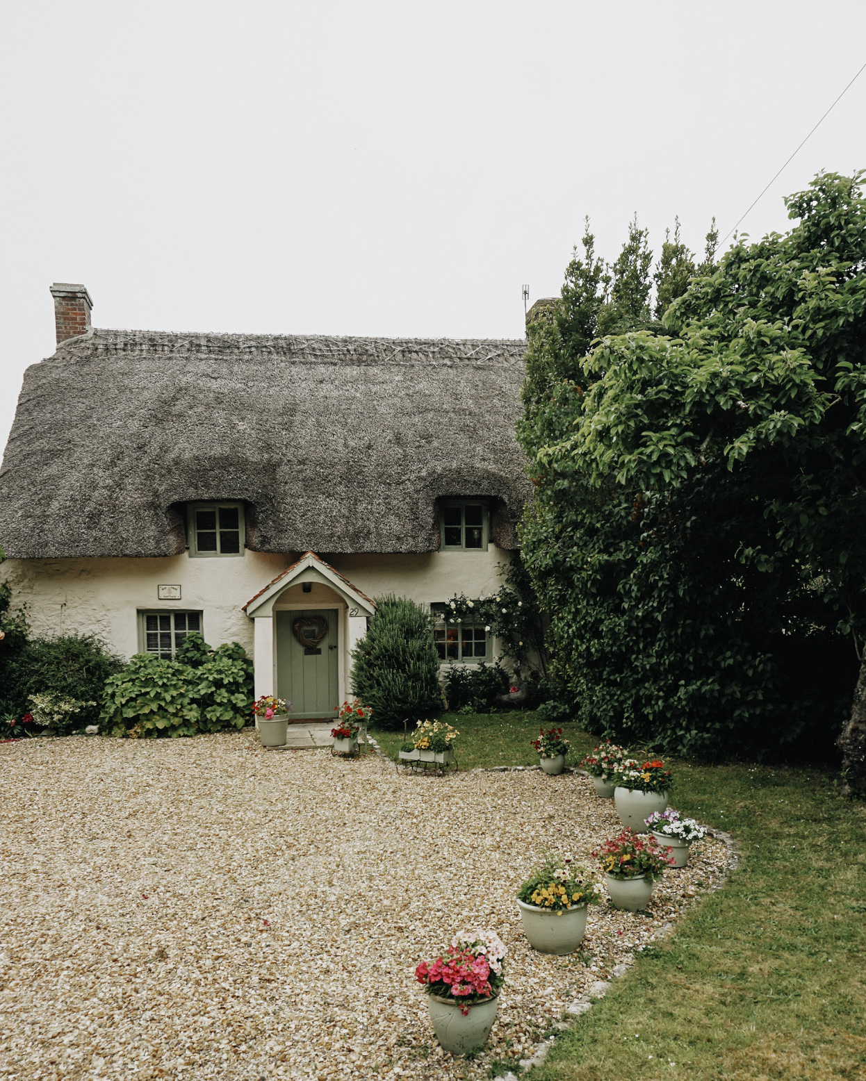 Just one of the many perfect cottages in Dorset