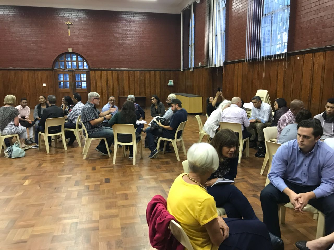 Last night we had a great meeting at St Goerges Cathedral to discuss and plan the (re)opening of an emergency shelter in the hall next to St Goerges. We saw a fantastic representation from many key roleplayers in the homeless sector. Our desire and hope is that it will help those living on the street to find short-term intervention which will hopefully lead to long-term developmental assistance.