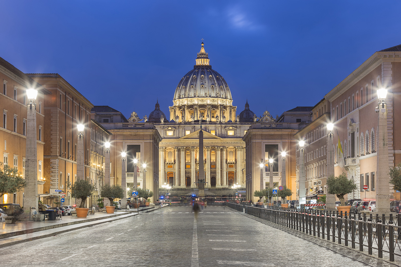 Auf dem Weg zum Vatikan