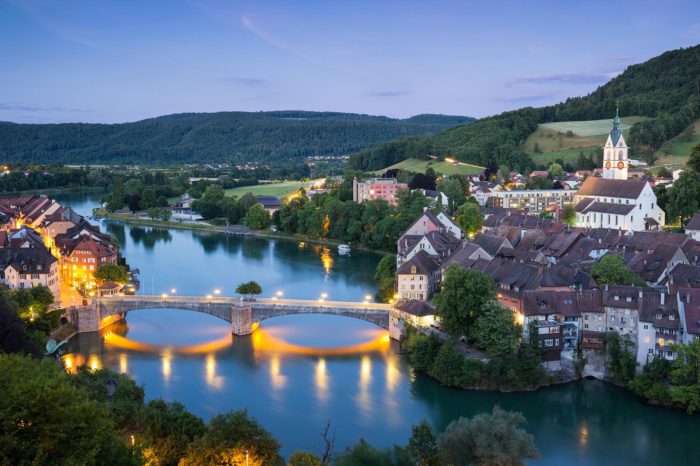 Aussicht über Laufenburg