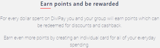 """Rewards Points as mentioned on the homepage of Divipay. However, I have not been able to see any sign of it in the """"My Account"""" section and I have not earned any points yet!"""