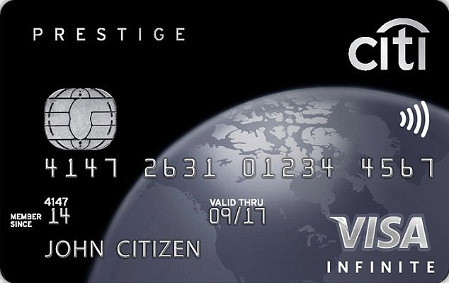 Citibank Prestige - $700