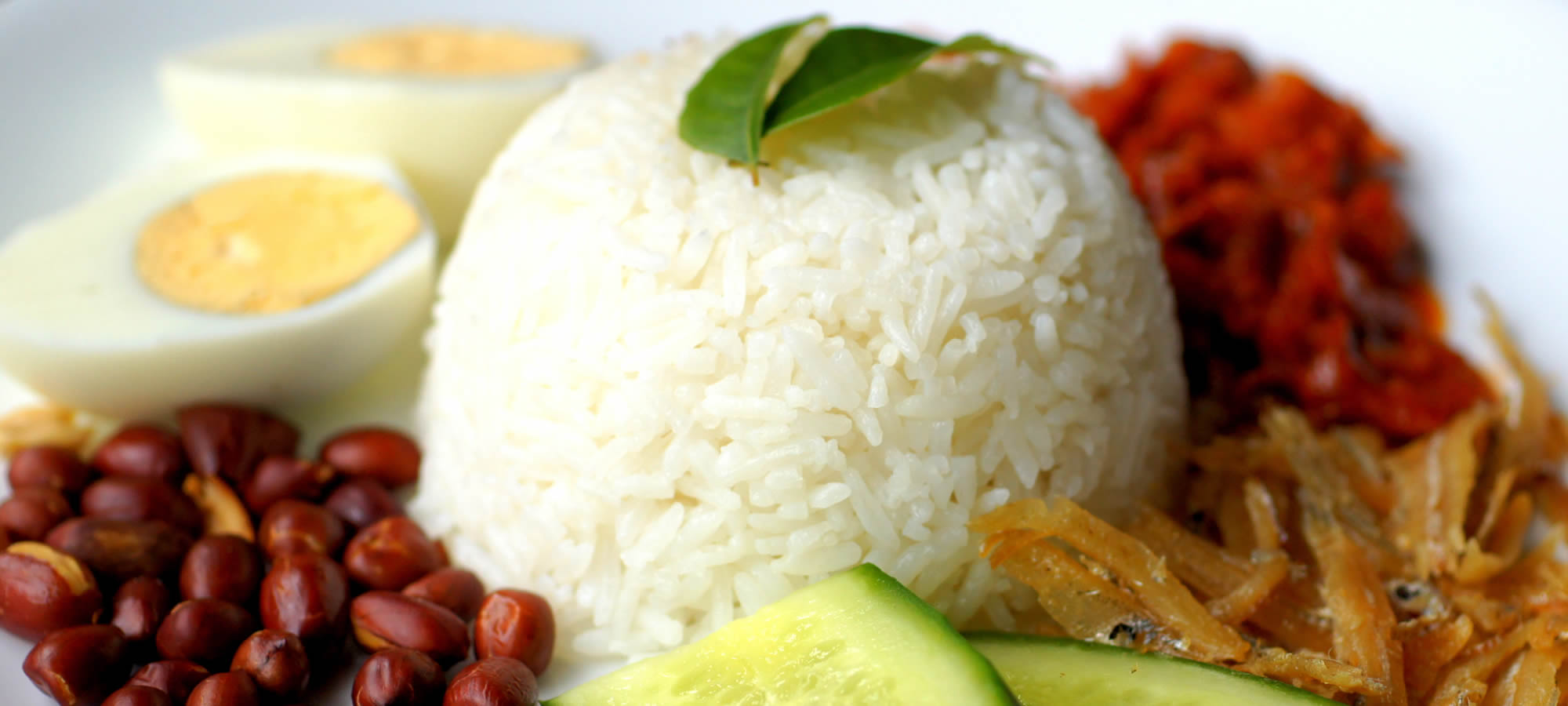 Nasi Lemak Coconut Rice