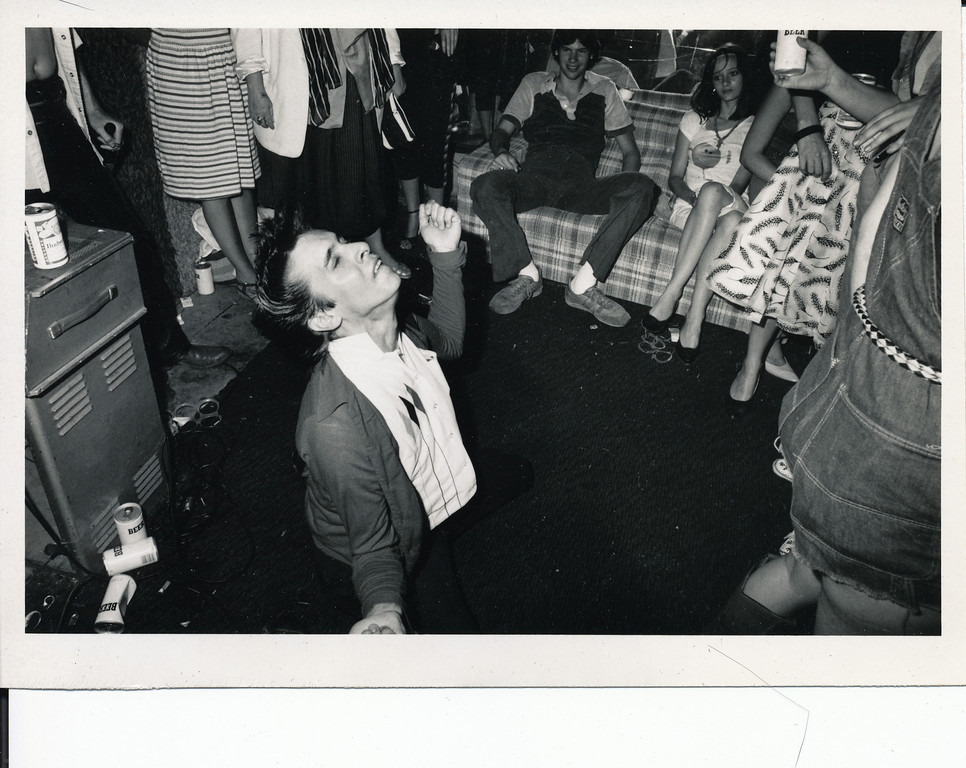 Wild party, Los Angeles, 1981