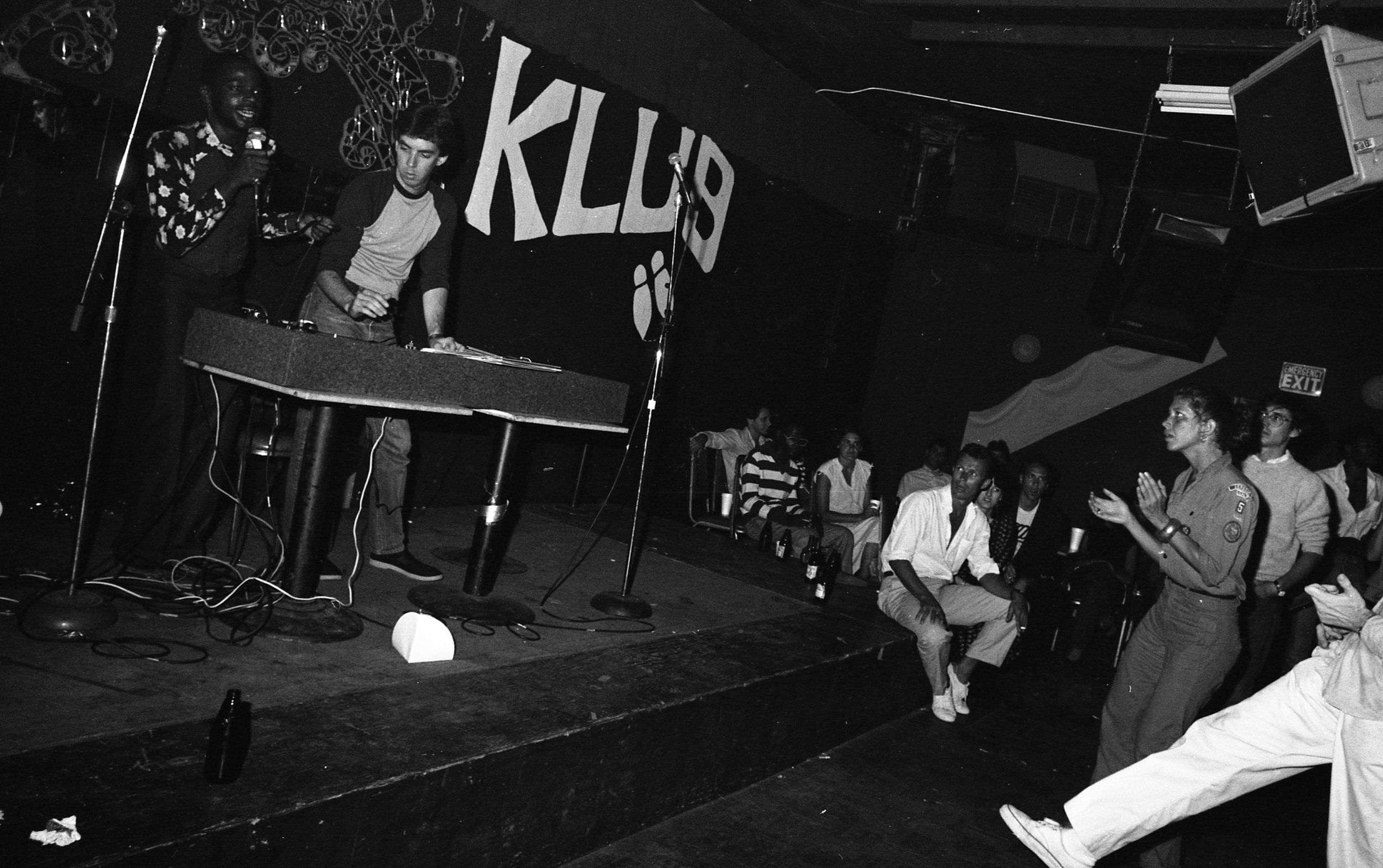 Rap contest, On Klub, Los Angeles, 1981