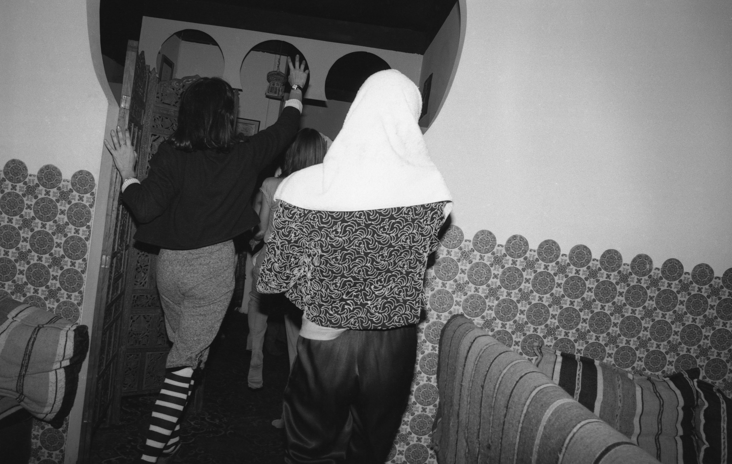 Moroccan Restaurant: Girls' Night Out. Los Angeles, 1981 (17/19)