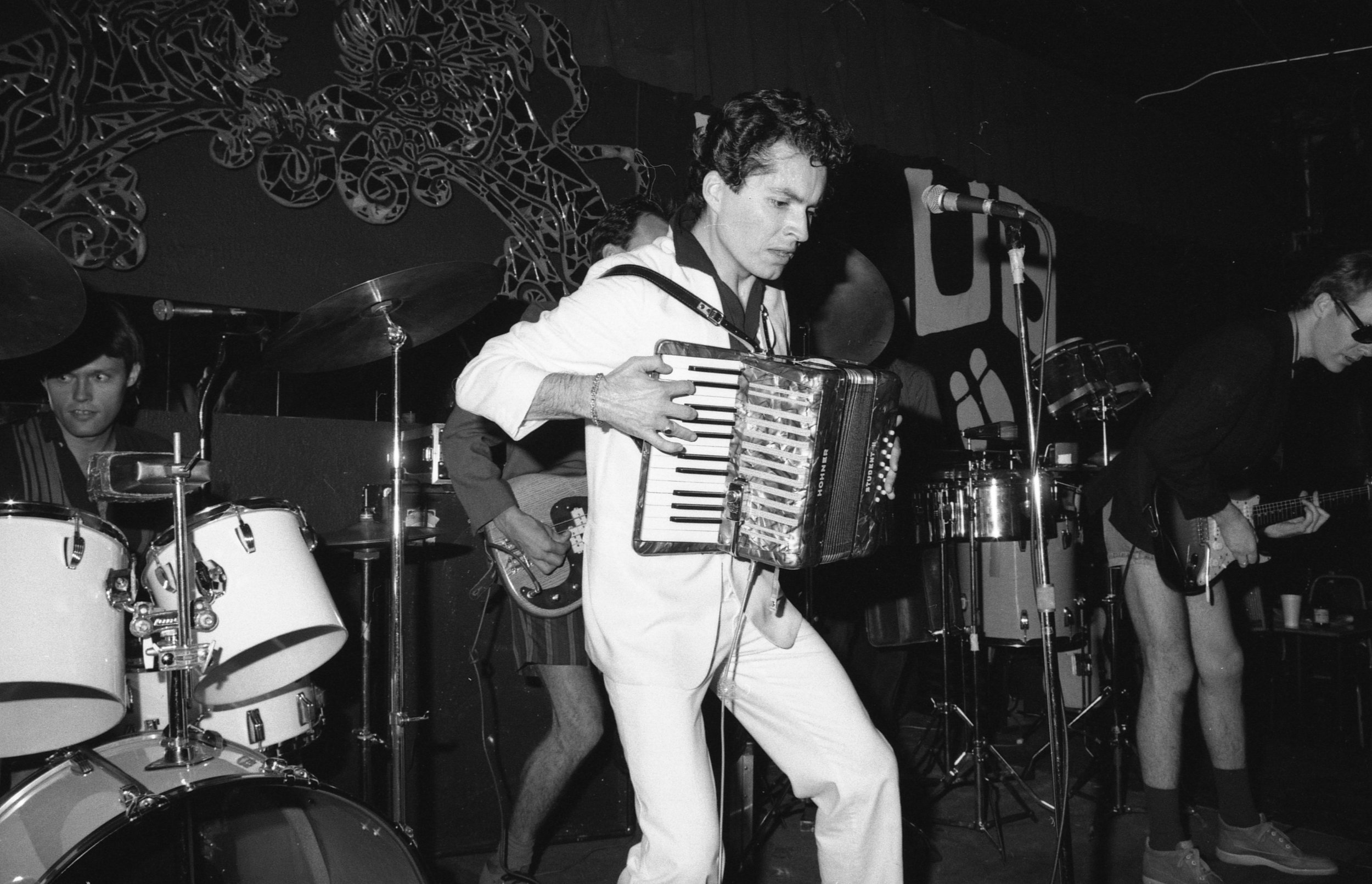 Billy Sheets and Undercover at the On Klub, Los Angeles, 1981.