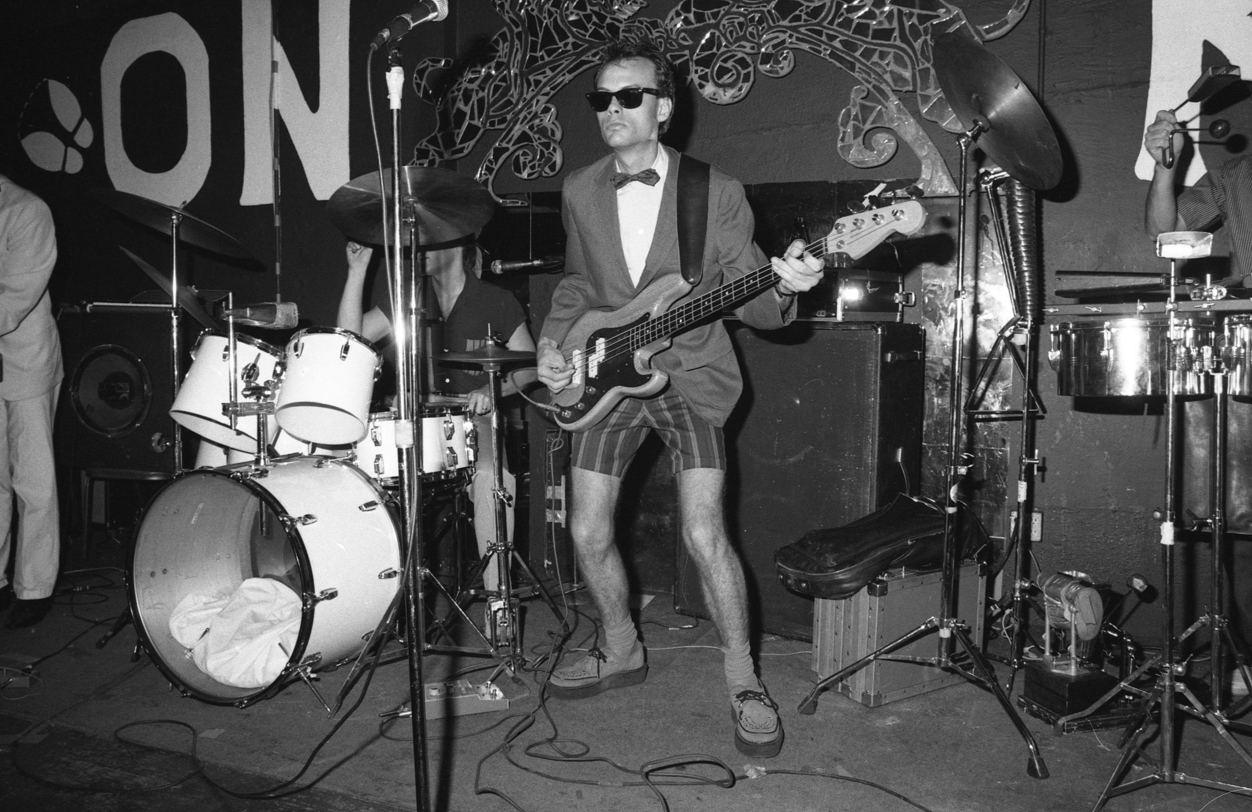 Billy Sheets and Undercover at the On Klub, Los Angeles, about 1981.