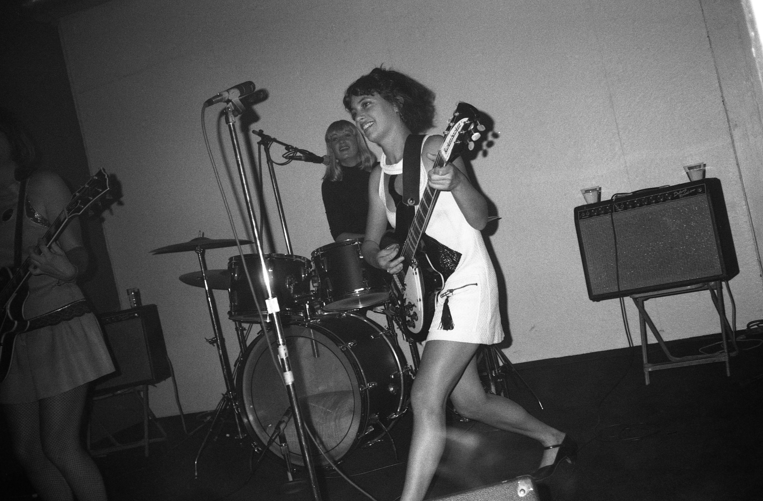 All-girl band. Los Angeles, October, 1982. (1/2)
