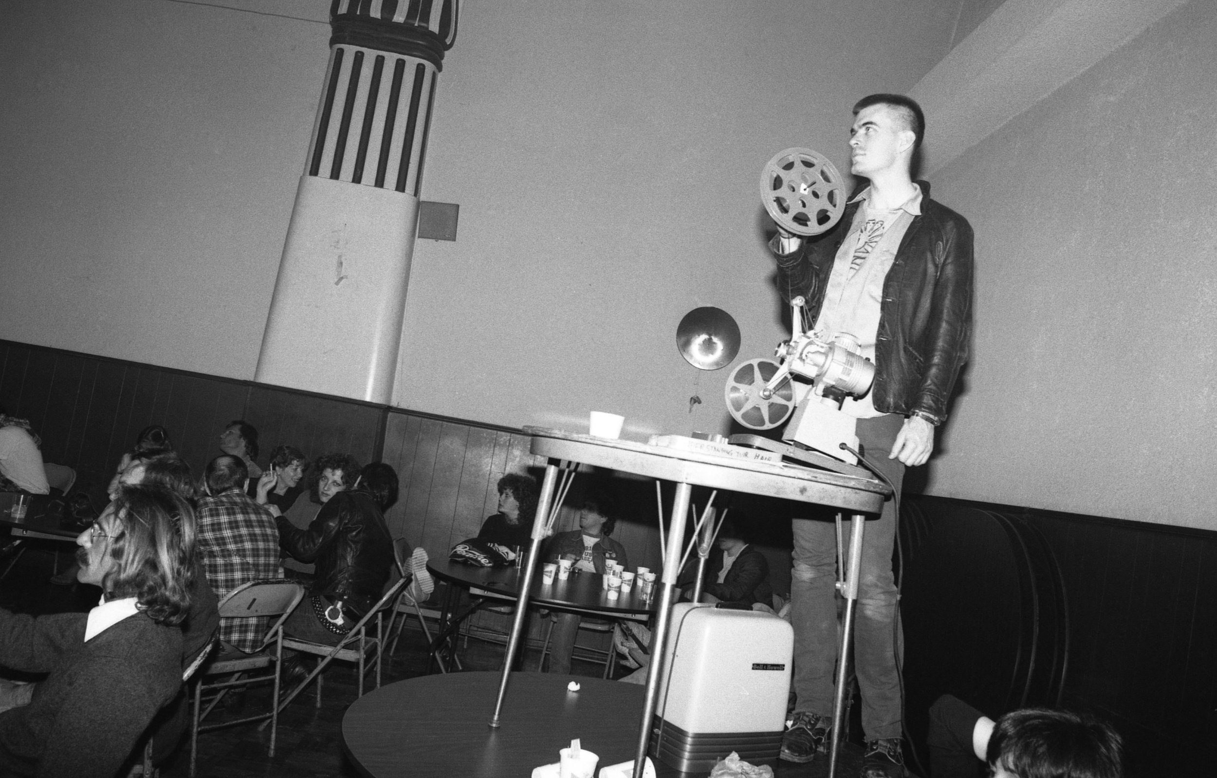 Event at Ukrainian Cultural Center, Los Angeles, 1982.