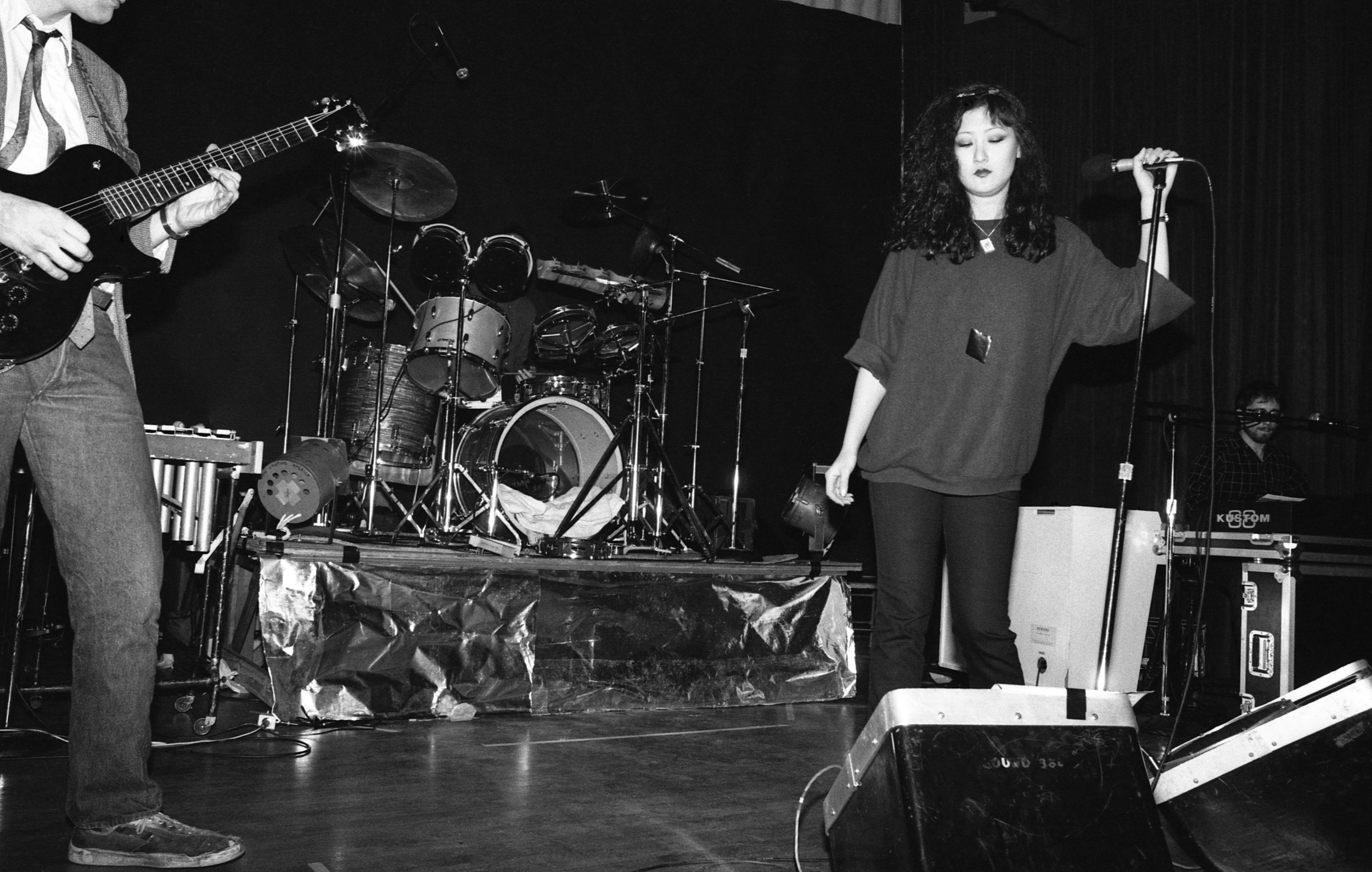 Fibonaccis performing at the Ukrainian Cultural Center, Los Angeles, 1982. (3/7)