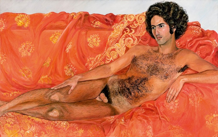 Slyvia Sleigh,  Imperial Nude: Paul Rosano , 1977. Tate Liverpool.