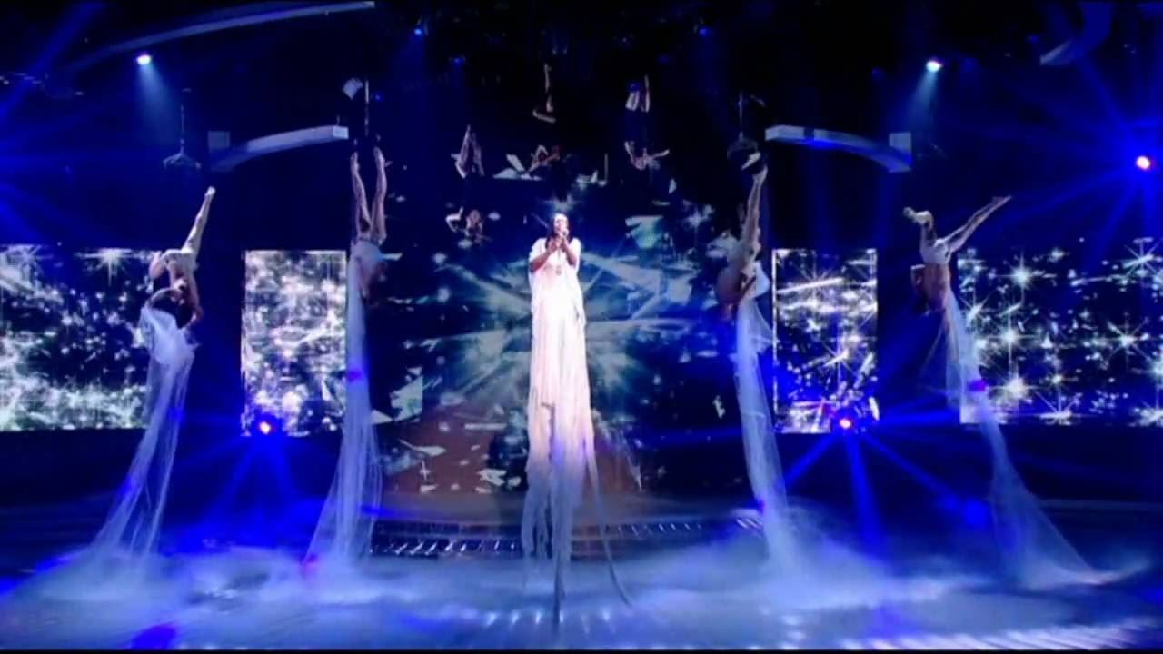 X factor, Alexander Burke - The Silence • Aerialists
