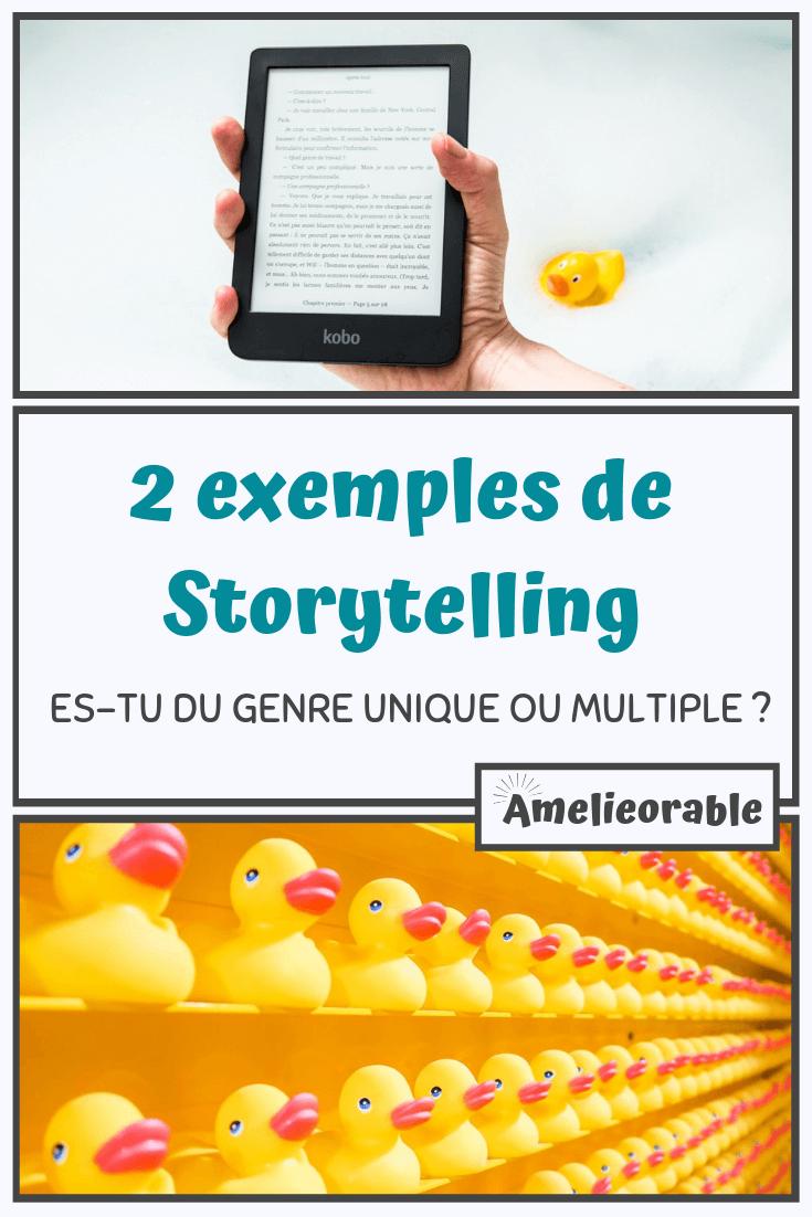exemples de storytelling unique