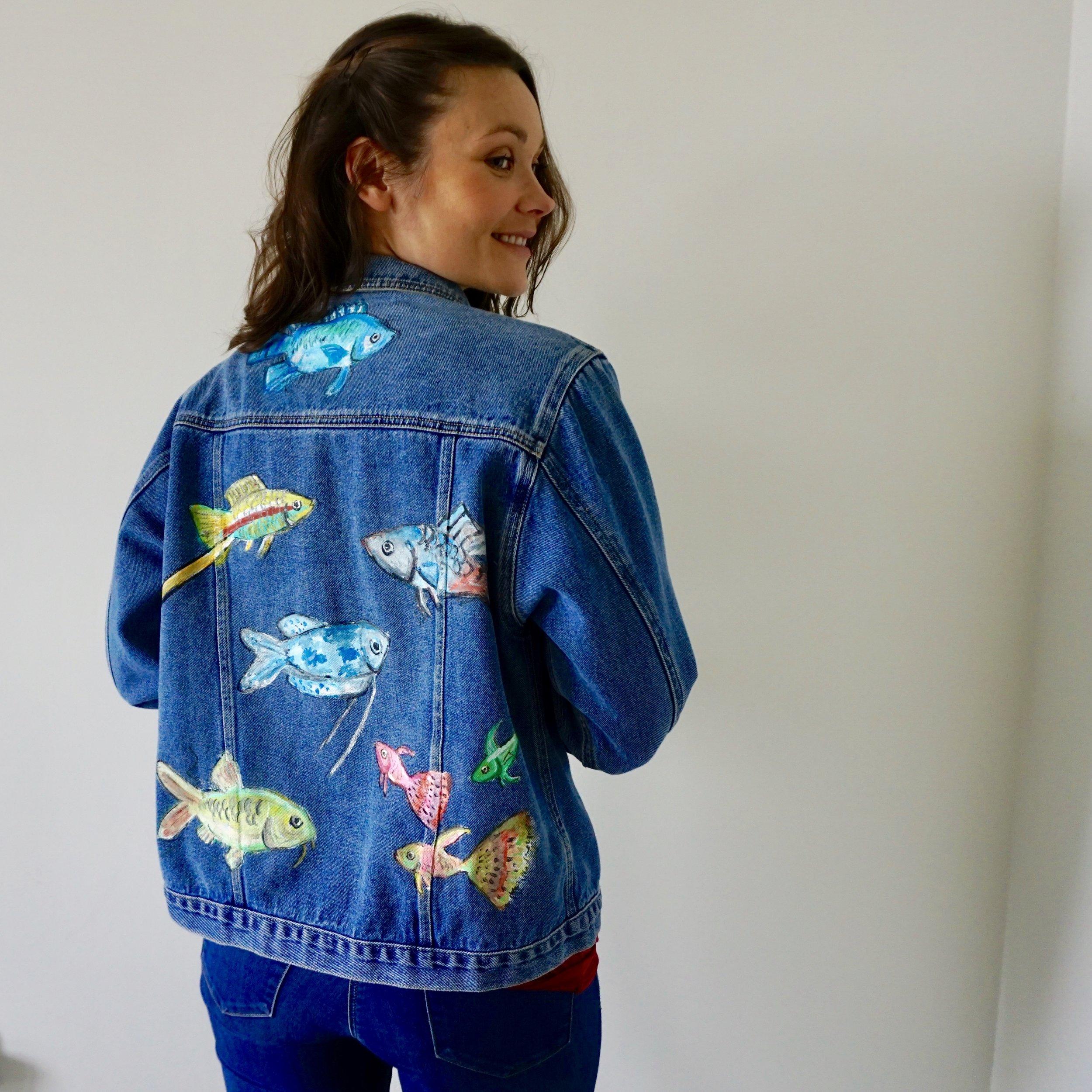 Hanna Pumfrey in SmartSquid Jacket