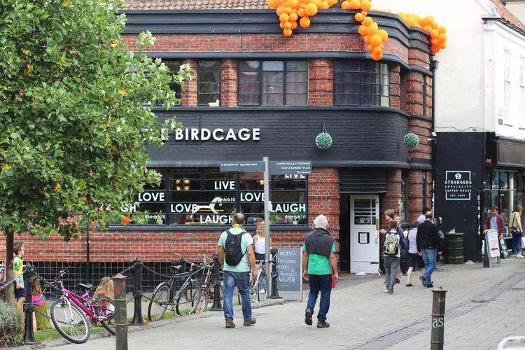 Birdcage bar Norwich