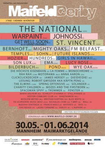 Maifeld Derby Festival (2014)