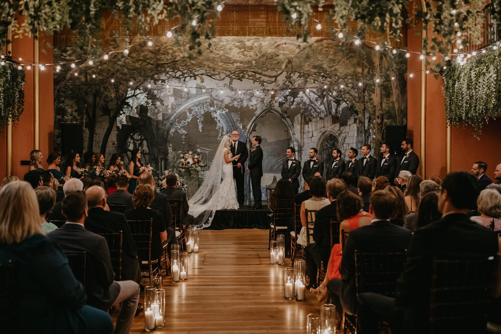 Bryan & Jessie |Asheville Masonic Temple Wedding