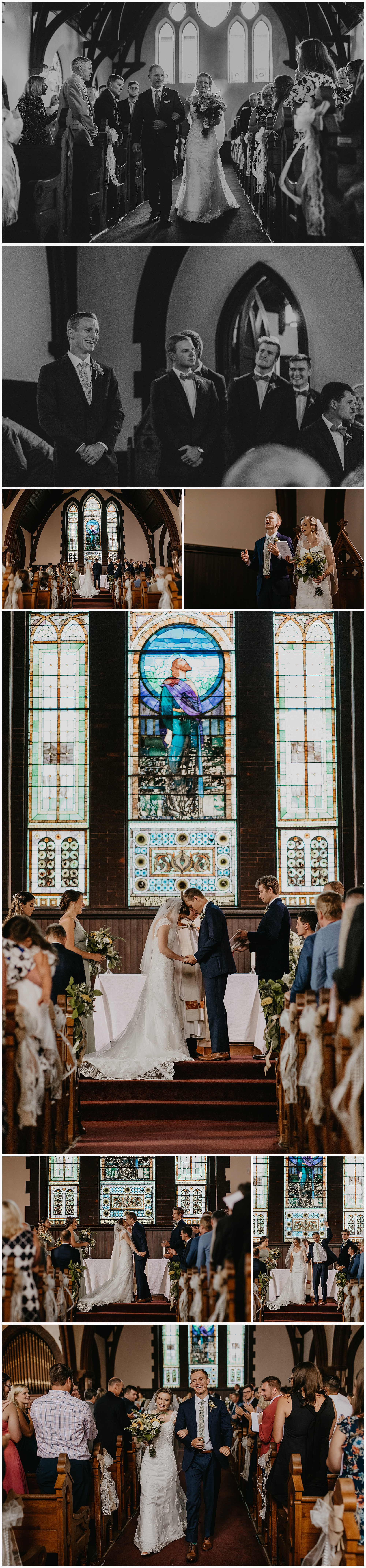 University of Virginia Chapel Wedding by Candle & Quill Photography | Charlotte NC Wedding Photographer, Virginia Wedding Photographer, Virginia Wedding Ideas, UVA Chapel Wedding, Charlottesville VA Wedding, Charlottesville VA Wedding Photographer, UVA Chapel, Virginia Wedding at King Family Vineyards, Virginia Reception at King Family Vineyards, VA Details and Lace LLC Wedding Planning, Maggie Sottero Designs Wedding Dress, Emotional First Look with Dad Groom, Traditional Chapel Wedding Ideas