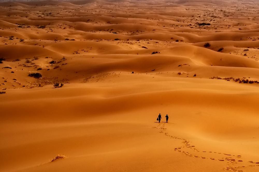 Maranjab desert - Photo by: Arash Karimi