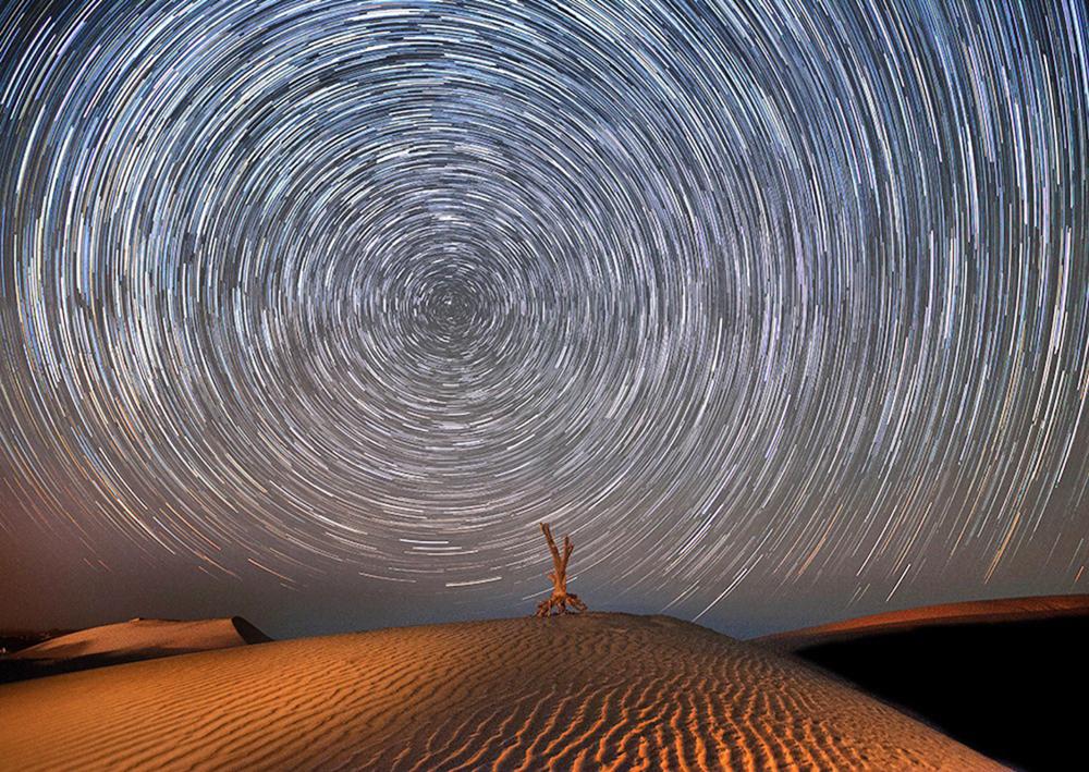 Mesr desert - Photo by: Ali Matinfar