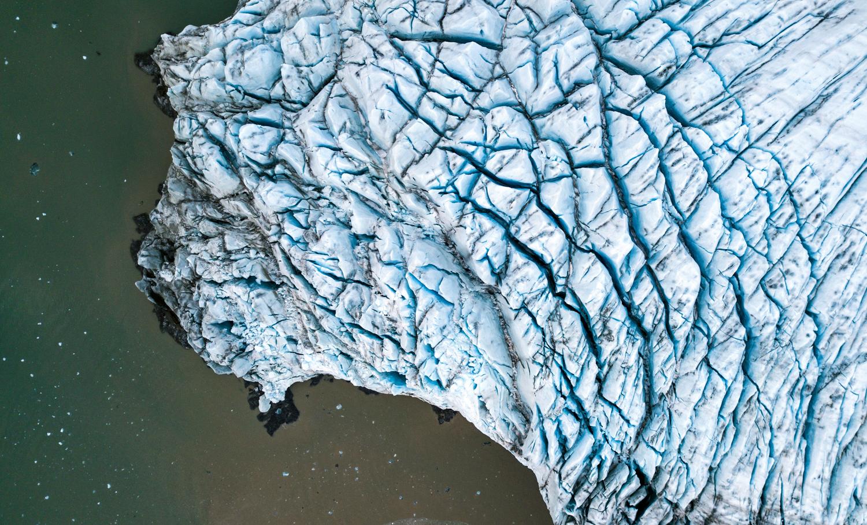 Crevasses in Nordenskiöldbreen