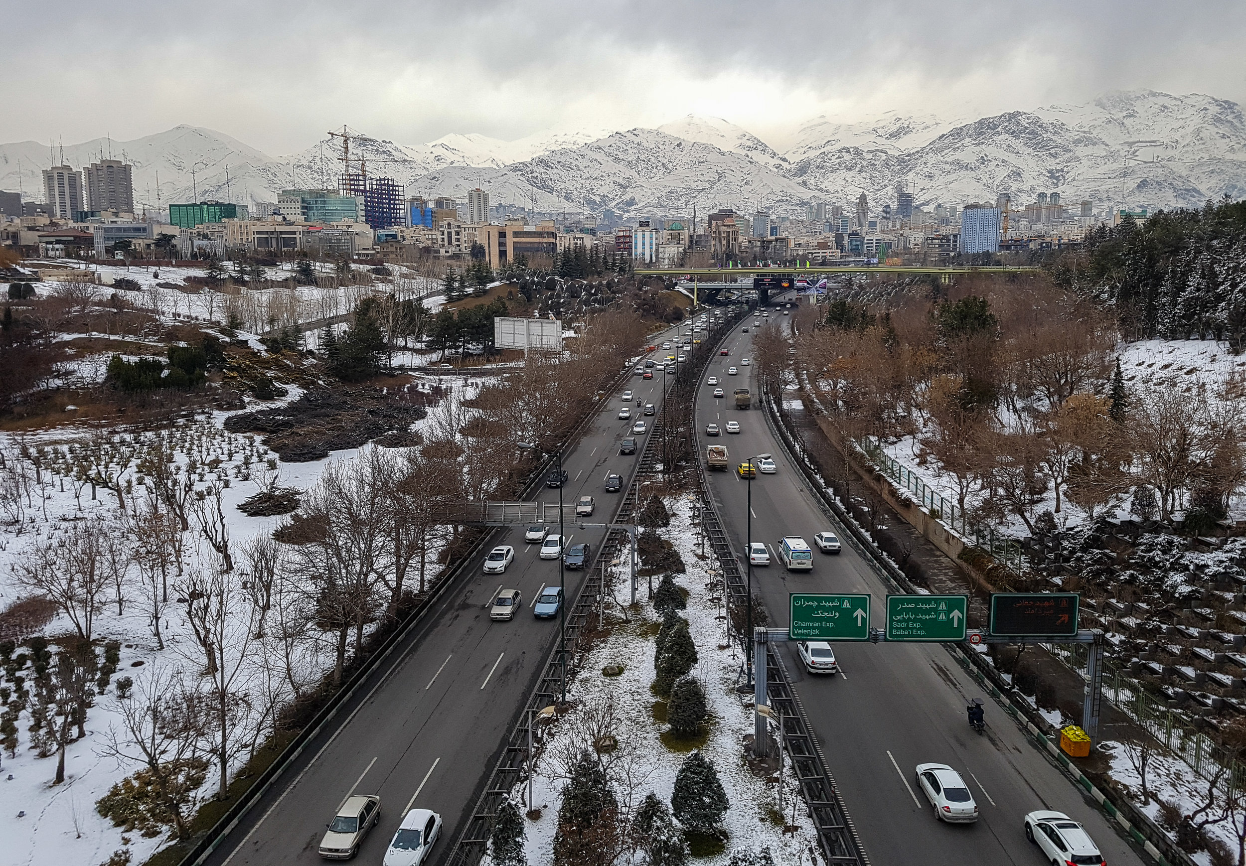 Tehran, the capital and the largest city of Iran