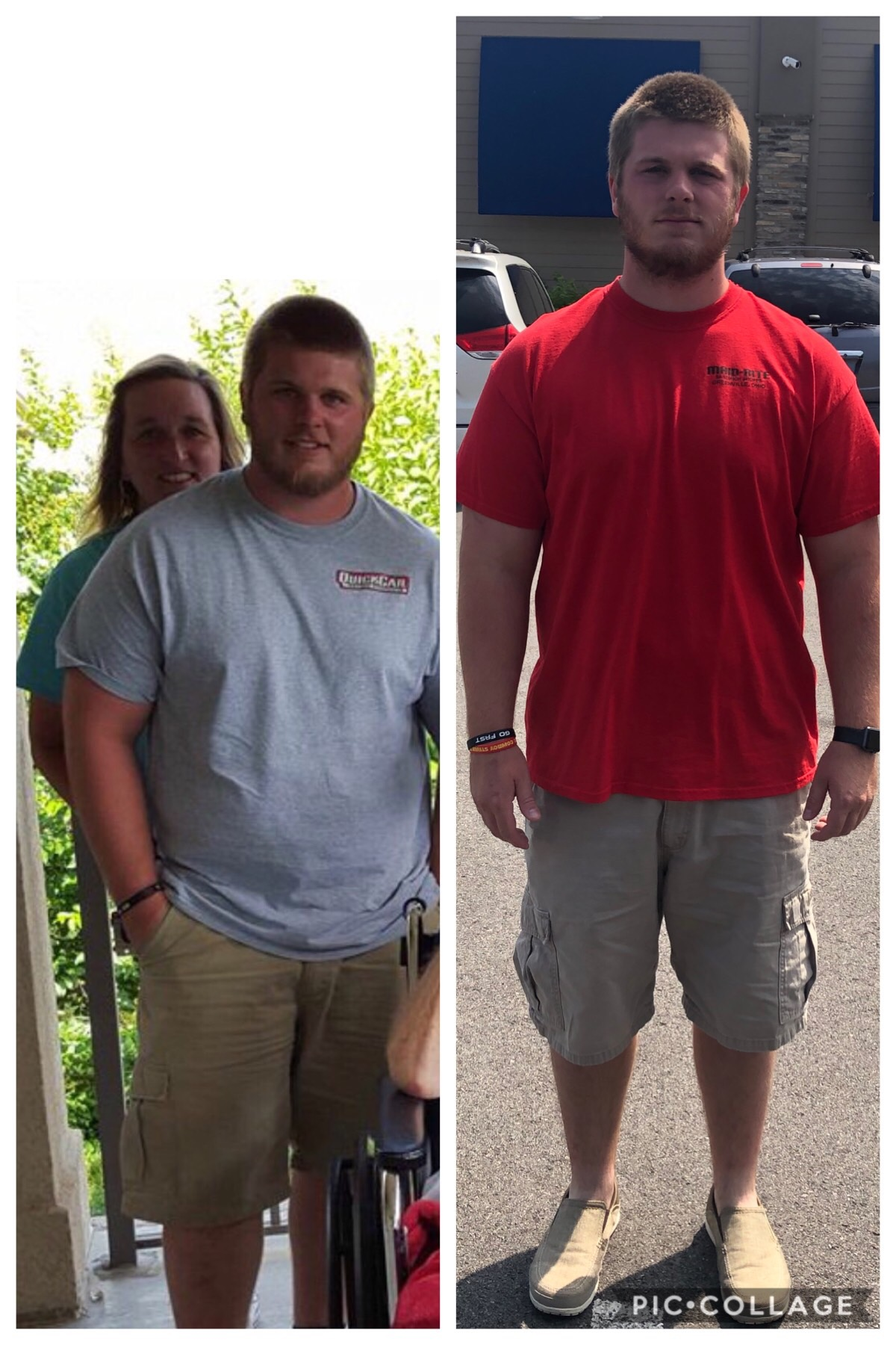 Using his programs has helped me go from 260lbs down to 205lbs. I will continue to use these programs for my fitness journey. - Justin F.