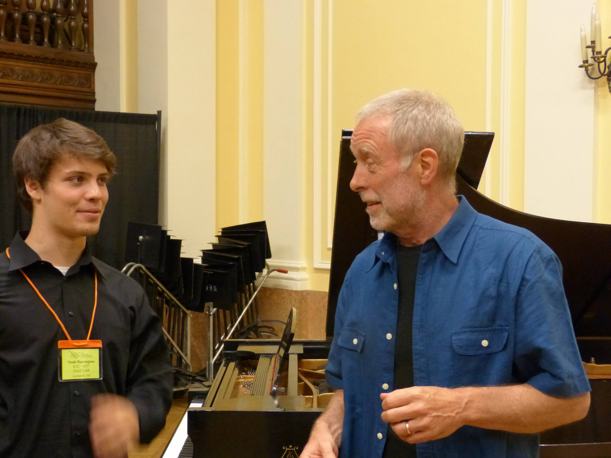 With Dave Holland!