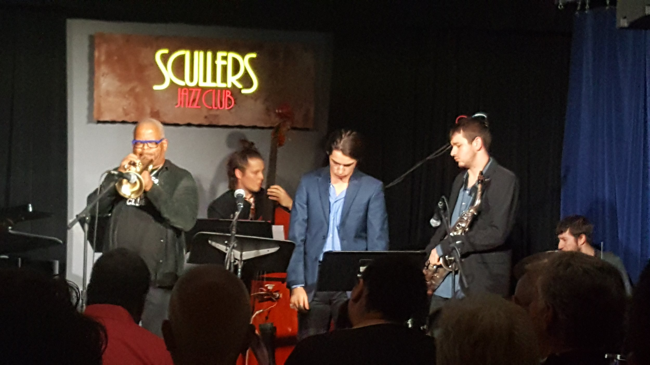 With Terence Blanchard at Scullers